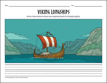 Label a Viking Longship Diagram - Parts of a Viking ...