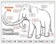 Label a Wooly Mammoth! {Body Parts Diagram}
