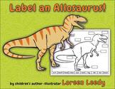 Label a Dinosaur Body Parts Diagram