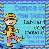 Label and Color RAINY DAY- The Gypsy Teacher