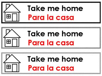 Label for Children's Artwork (Portfolio or Take Me Home)