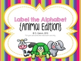 Label the Alphabet - Animal Edition