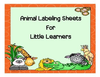 Label the Animal Sheets