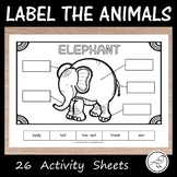 Label the Animals