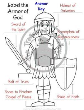Fabulous image throughout printable armor of god worksheets