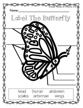 Butterfly Label It