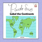 Label the Continents (Activity)