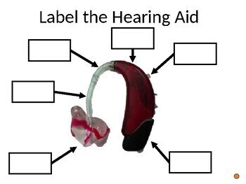Label the Deaf and Hard of Hearing Equipment