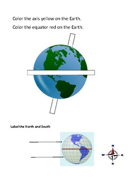 Label the Earth
