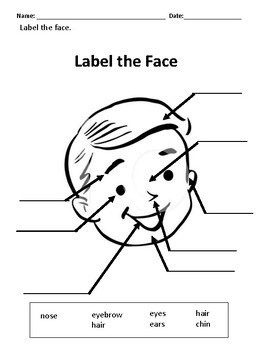 Label the Face