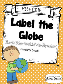 Label the Globe - FREEBIE