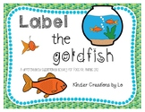 Label the Goldfish (Animals 2x2)