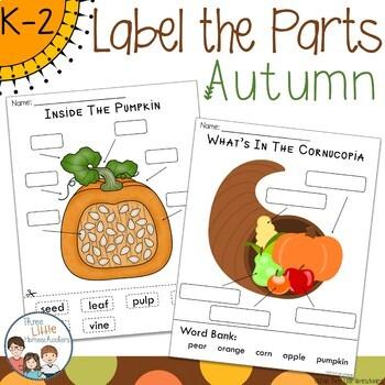 Autumn Labeling Center Activities