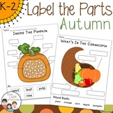 Autumn Labeling Center Activities