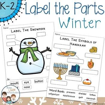 Winter Labeling Center Activities