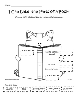 Label the Parts of a Book