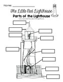 Label the Parts of the Lighthouse - The Little Red Lighthouse