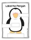 Label the Penguin FREEBIE