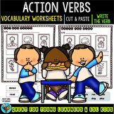Label the Pictures Worksheets | Action Verbs