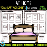 Label the Pictures Worksheets | At Home