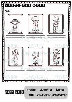 Label the Pictures Worksheets Bundle