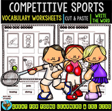 Label the Pictures Worksheets | Sports