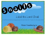 Label the Snail (Animals 2X2)