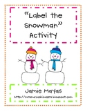 Label the Snowman
