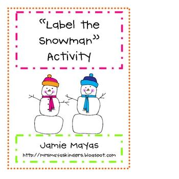 Label the Snowman