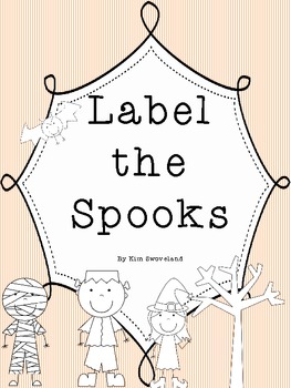 Label the Spooks - A Halloween Writing Journal