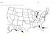 Label the States- Florida-Kansas (alphabetically)