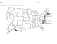 Label the States- North Carolina- South Dakota (alphabetically)