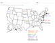 Label the States and Abbreviations-North Carolina-South Dakota (alphabetically)