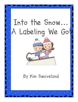 Label the Winter Writing Journal