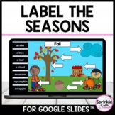 Label the seasons-Google Slides™️ (Distance Learning)