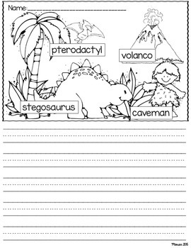 Labeled Picture Writing Prompts Bundle