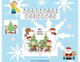Labeling 5 Christmas Scenes