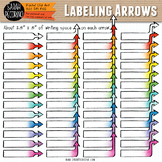 Diagram Labeling Arrows Clip Art