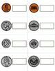 Labeling Coins Task Box or File Folder