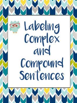 Labeling Complex and Compound Sentences