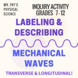 Labeling & Describing Mechanical Waves - Longitudinal & Tr