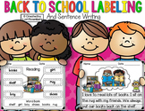 Labeling Packet...Back to School Edition Distance Learning Packet