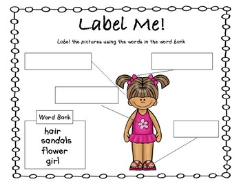 Labeling Pictures