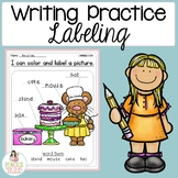 Labeling Worksheets & Sample -Perfect for Writing Center-i