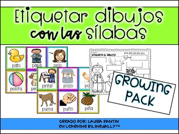 Labeling Syllable Pictures in Spanish