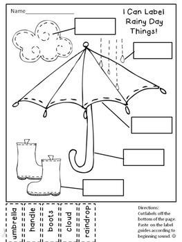 Labeling Worksheets