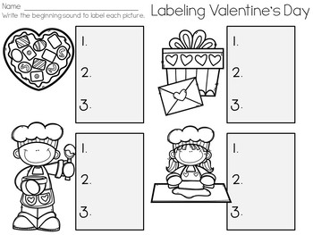 Labeling Valentine's Day