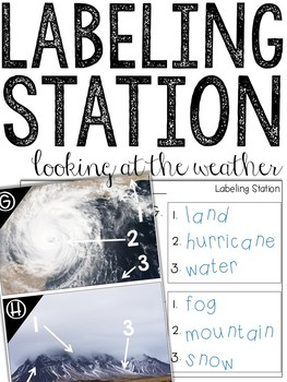 Labeling Weather