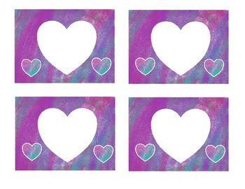 Labeling With Hearts- Valentine's Day
