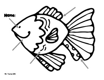Labeling a Fish Freebie